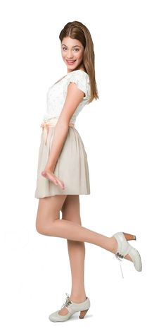 . Violetta Outfits, Violetta And Leon, Disney Stars, Best Series, Disney Outfits, Dress Outfits, Dresses, School Outfits, Girly