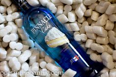 Pinnacle Cake Flavored Vodka: My daddy and I came up with a fun cocktail with this on the 4th of July. Take 1 oz Pinnacle Cake Vodka, and 6 oz of homemade Lemonade and shake over ice. Enjoy. We called it the Lemon Cupcake!