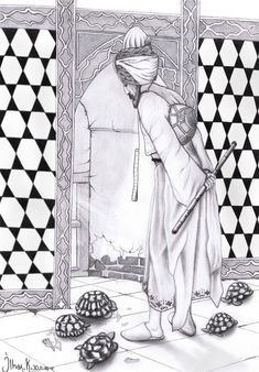 Charcoal Paint, Iranian Art, Coloring Pages, Doodles, Sketches, Watercolor, Embroidery, Drawings, Pattern