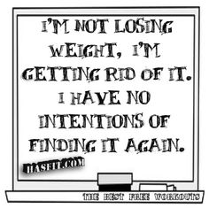 Weight loss is a life style change