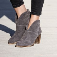 """The """"cutout"""" booties www.most-chic.com"""