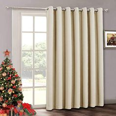 Buy RYB HOME Room Drekening Curtain for Bedroom, Privacy Window Shades Curtain for Living Room Dining Office, Thermal Insulated Drapes for Patio Door, 100 inches Wide x 84 inches Long, Pure White White Curtains, Insulated Drapes, Curtains Bedroom, Window Shades, Curtains, Curtains Living Room, House Rooms, Drapes Curtains, Privacy Shades