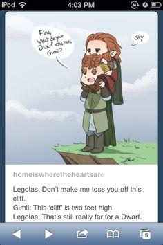 Legolas and Gimli