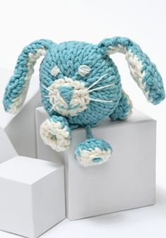 Knit Loveable Stuffed Puppy Toy, Freebie: thanks so! xox
