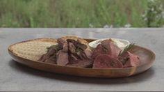 Spit Roast BBQ Lamb Bbq Lamb, Masterchef Recipes, Masterchef Australia, Heston Blumenthal, Latest Recipe, Seafood Dishes, Serving Platters, Roast, Yummy Food