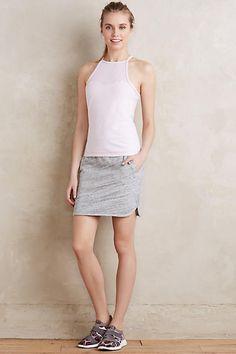 Heathered Knit Skirt - anthropologie.com