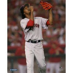 Pedro Martinez Boston Red Sox Pointing to Sky 8x10 Photo