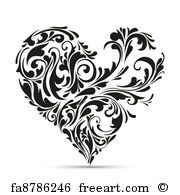 See Heart Art Prints at FreeArt. Get Up to 10 Free Heart Art Prints! Gallery-Quality Heart Art Prints Ship Same Day. Heart Clip Art, Heart Art, Love Heart, Motif Vector, Eps Vector, Vector Art, Motif Oriental, Valentine Tree, Marquesan Tattoos