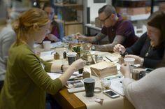 bedsidesign west elm calligraphy workshop