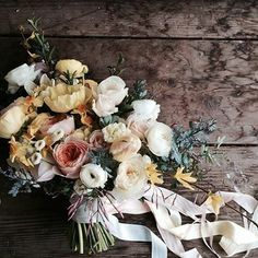 Spring bridal bouquet by Floret