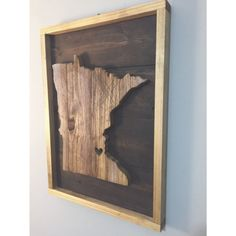 """This wood is all cut, distressed and stained by hand. If you're going to fill your home with decor... Do it right and buy the things that people will take notice of. Like this. Dimensions: 9"""" x 12"""" OR"""