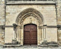 Portada Tardorrománica - Santa María del Puerto, Santoña