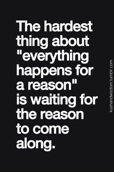 And the reason is..