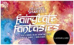 Helsinki Shake It! Burlesque club – Fairytale fantasies!