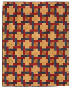 Woven Squares Quilt Pattern - Keepsake Quilting
