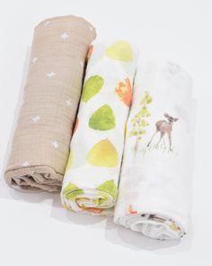 Little Unicorn Cotton Muslin Swaddle Set - Oh Deer! Toddler And Baby Room, Cotton Muslin, Little Unicorn, Oh Deer, Swaddle Blanket, Little Man, Future, Design, Products