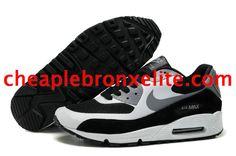 Nike Air Max 90 Shoes Black Cool Grey Pure Platinum 333888 019
