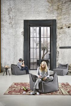 Poufomania follows the changeable of the modern space, providing you the best choices for your home! #beanbags #beanbag #indoor #madeingreece #poufomania Outdoor Bean Bag, Bean Bag Sofa, Modern Spaces, Modern Sofa, Exterior Design, Architecture, Indoor, House Design, House Styles