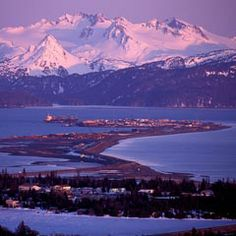 Homer, Alaska -- the halibut fishing capitol of the world