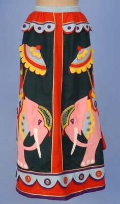 Skirt Malcolm Starr, 1970s Whitaker Auctions