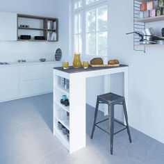 """Discover even more info on """"pub set in living room"""". Have a look at our web site. Small Breakfast Bar, Breakfast Bar Kitchen, Kitchen Table Small Space, Small Space Living, Kitchen Dining, Small Dining Table Apartment, Tiny Apartment Living, Small Apartment Design, Small Space Design"""