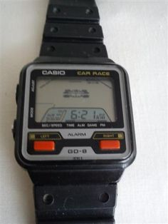 Casio Race Car Watch