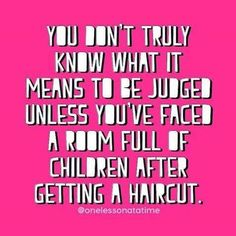 They notice everything! #hair #shoes #nails