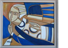 Painéis, Telas, Porcelanas: Anjo do Silêncio