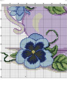 Blue Flowers 5/6