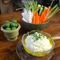 Lemon and Feta Cheese Dip | Recipe @ www.AfterOrangeCounty.com