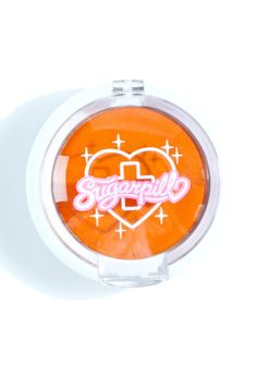 Sugarpill Flamepoint Pressed Eyeshadow is gunna burn, burn, burn it all down~ This incredible eyeshadow features a true matte orange pigment that dispenses vibrant, opaque color, housed in an adorable white pan with Sugarpill logo across the front.