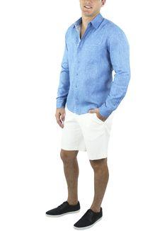 Camisa San Blas #moda #lino #SS2015 www.abito.com.mx
