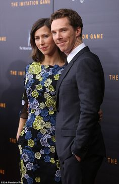 (looking aside from happy Benedict) Love everything about this dress. Especially the color palette, the semi-sheer sleeves, and the pockets.