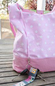 Ich hab´s geschafft, ich hab´s geschafft!! Endlich hab ich die AllesDrin Tasche von Farbenmix genäht, eins meiner vergessenen-Taschen-Ebo...