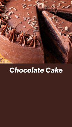 Chocolate Ice Cream Cake, Homemade Chocolate, Baking Pans, Baking Soda, Cake Recipes, Dessert Recipes, Desserts, Unsweetened Cocoa, Christmas Cookies