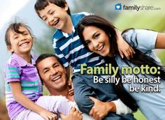 FamilyShare.com l A fun way to teach your family is through a family motto.