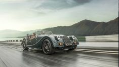 """Morgan Motors has been in business for 106 years, and its cars retain a vintage look. 