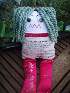 DAMMIT DOLL!  hahaha we used to have one of these when I was a kid!!!