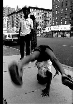 B Boy on Broadway & 96th St. Henry Chalfant