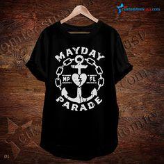 Mayday Parade Band T-Shirt – Adult Unisex Size S-3XL