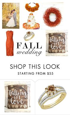 """Fall Wedding"" by le-vintagegalleria ❤ liked on Polyvore featuring interior, interiors, interior design, home, home decor and interior decorating"
