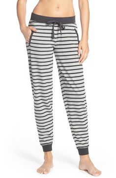 COZY ZOE Stripe Jogger Pants available at #Nordstrom