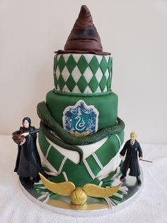 Slytherin House (Harry Potter) Birthday Cake