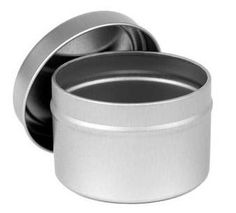 METAL CANDLE TINS (4 oz. size) Spices, Beads, Candles, Dry Foods, Craft Supplies esty 1.45