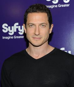 Sasha Roiz | Sasha Roiz Actor Sasha Roiz attends the 2010 Syfy Upfront party at The ...
