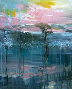 acrylic on canavas water lillies II. Paintings, Deviantart, Water, Gripe Water, Paint, Painting Art, Painting, Painted Canvas, Drawings