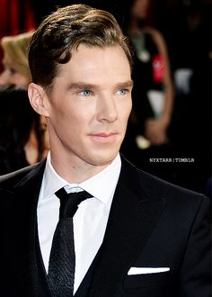 Is is just me or is this like an all new kind of cumberbatch? I just don't know what it is! I mean I like it