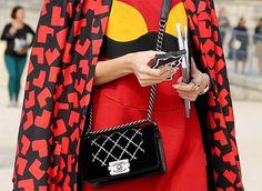 Неделя моды в Париже S/S 2015: street style. Часть VII (фото 18)