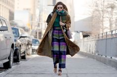 The Best Street Style From New York Fashion Week  - ELLE.com #modeststreetstyle #modestfashion