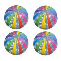 $25 for set of 4. Slightly more expensive than Wilson's but less pastel color scheme (would boys even care?) sets of 2 are even worse dealIntex Jumbo Inflatable Big Panel Colorful Giant Beach Ball (Set of 4) | 59065EP - Walmart.com